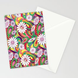Peaceful Paisley for Peaceful Person by Lorloves Lorin Stationery Cards
