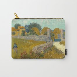 Vincent van Gogh - Farmhouse in Provence Carry-All Pouch