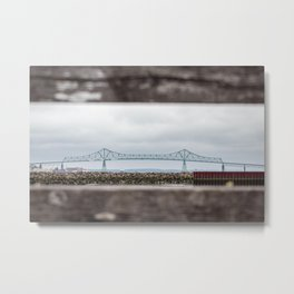 Astoria Megler Bridge Metal Print