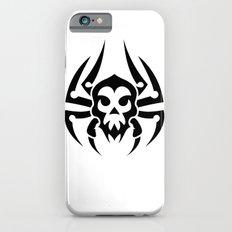 Decorative Black and White Skull Slim Case iPhone 6s