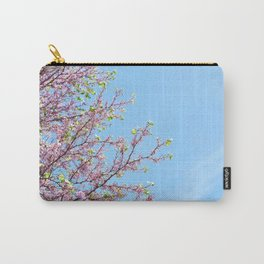 Blossoming Cercis siliquastrum or Judas tree Carry-All Pouch