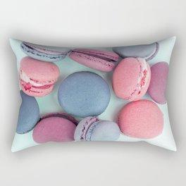 Berry Macarons Photograph Rectangular Pillow