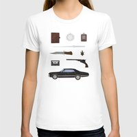 supernatural T-shirts featuring Supernatural v2 by avoid peril
