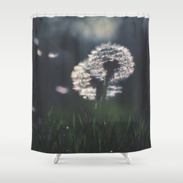 whispers in the wind Shower Curtain