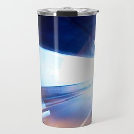 Exit of a tunnel. Blurred motion Travel Mug