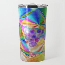 Colorful Mural Travel Mug
