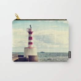 Amble Pier Lighthouse Carry-All Pouch