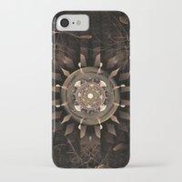 clockwork iPhone & iPod Cases featuring Clockwork by CreativeByDesign