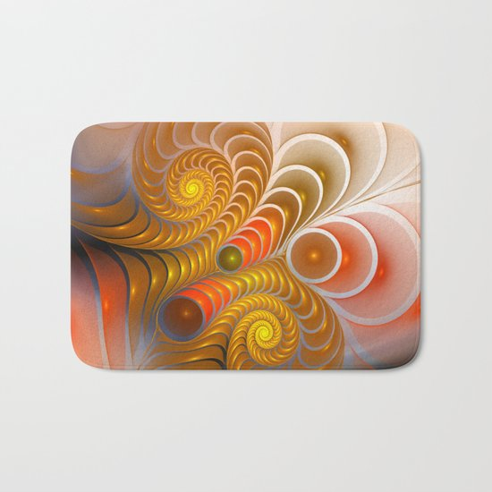 golden turns Bath Mat