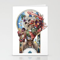 majora Stationery Cards featuring The song of Majora by Alejandra Vindas