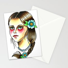 Damsel Stationery Cards