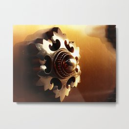 Narita-san Temple Door Metal Print