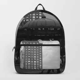 Black and White Union Square Backpack