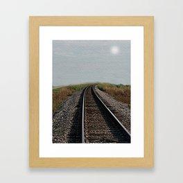 Tracks Framed Art Print