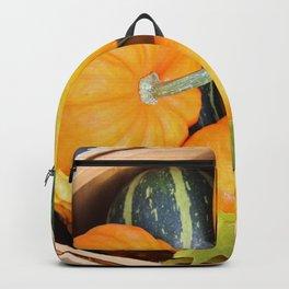 Basket full of Fall Backpack