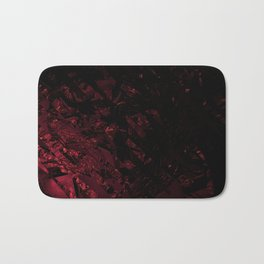 Surreal abstract fractal looks like shatters. Bath Mat