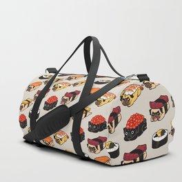 Sushi Pug Duffle Bag