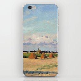 Camille Pissarro Landscape, Ile-de-France iPhone Skin