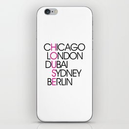 Worldwide House EDM Quote iPhone Skin