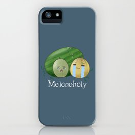 Melancholy Melons iPhone Case
