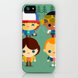 So stranger, with things iPhone Case