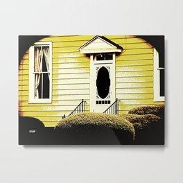 Front Door 927 Metal Print
