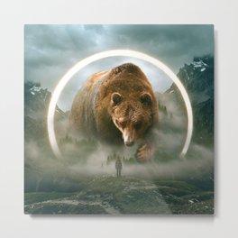 aegis | bear Metal Print