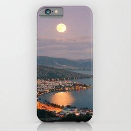 Kastoria Lake in Greece iPhone Case