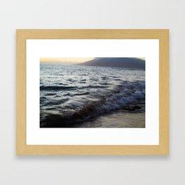 Rocky Waters Framed Art Print