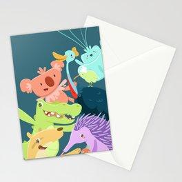 Aussie Friends Stationery Cards
