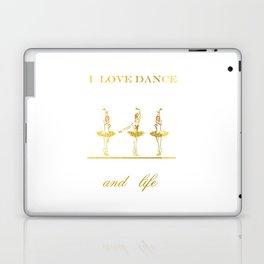 i love dance 2 Laptop & iPad Skin