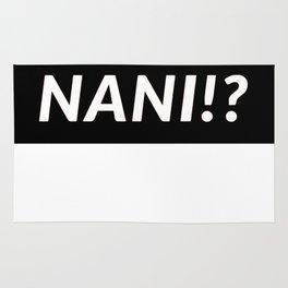 NANI!? Rug
