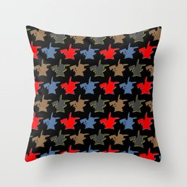 Poketron Throw Pillow