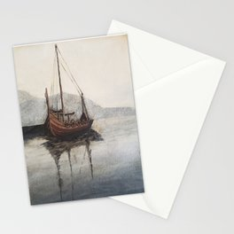 Lonely Viking Stationery Cards