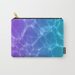 Swimming pool ripple color gradient Carry-All Pouch