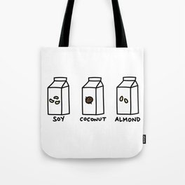 Soy Coconut Almond Tote Bag
