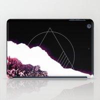 snowboarding iPad Cases featuring Mountain Ride by Schwebewesen • Romina Lutz