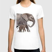 elephants T-shirts featuring Elephants by Goosi