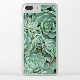 Green valentine Clear iPhone Case