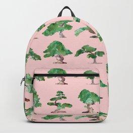 Bonsais Pink Backpack