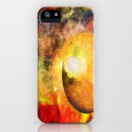 Planet HZ 439 iPhone Case