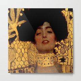 "Gustav Klimt ""Judith I"", 1901 Metal Print"