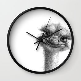 Hello-you ostrich sk130 Wall Clock