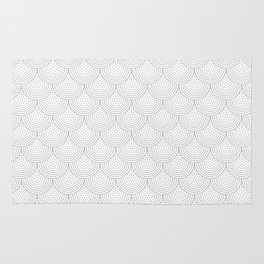 Dotty Scallop Rug