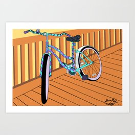 Beach-Cruisin' Art Print