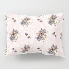 Pattern dog & triangles Pillow Sham