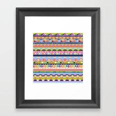 Summer Doodle Framed Art Print