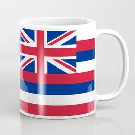 Hawaiian Flag, Official color & scale Coffee Mug