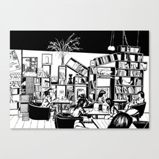 Cafe in Beijing  Canvas Print