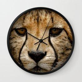 Big Cats Cheetah Wall Clock